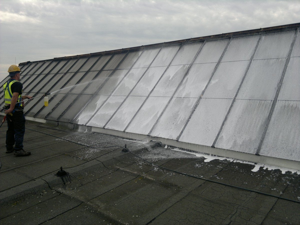 mycie dachu integro