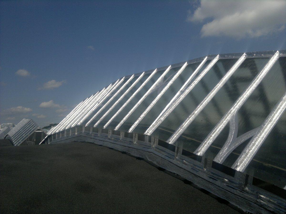 renowacja dachu z papy integro