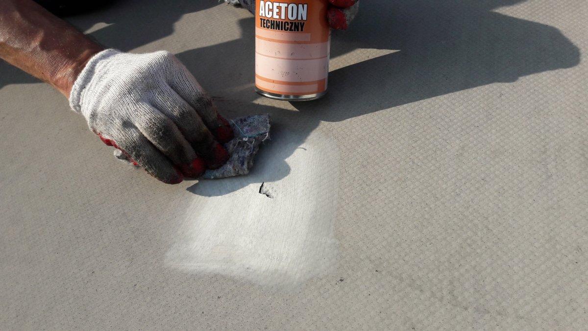 naprawy dachów z membran