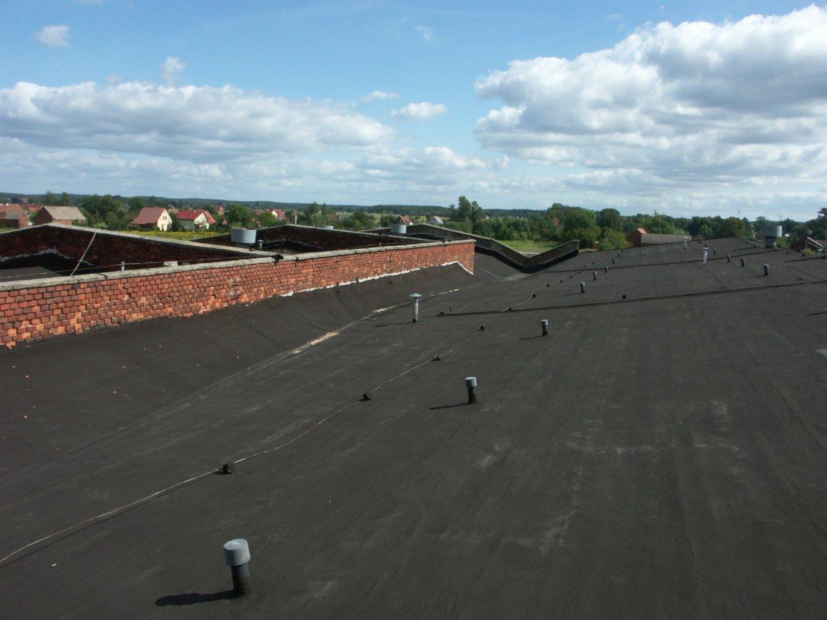dach z papy