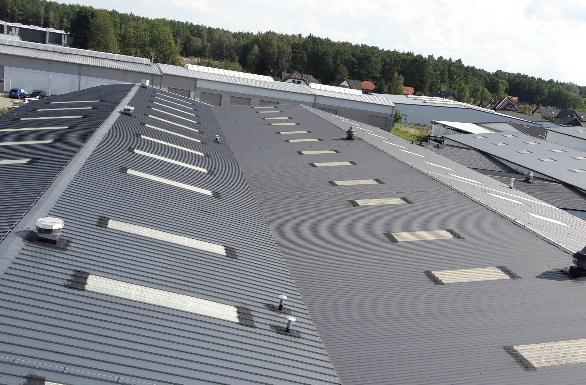 naprawy miejscowe dachów