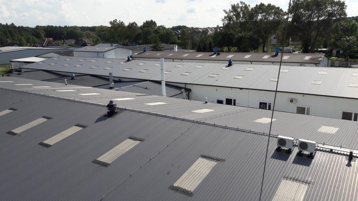 naprawy miejscowe dachu integro