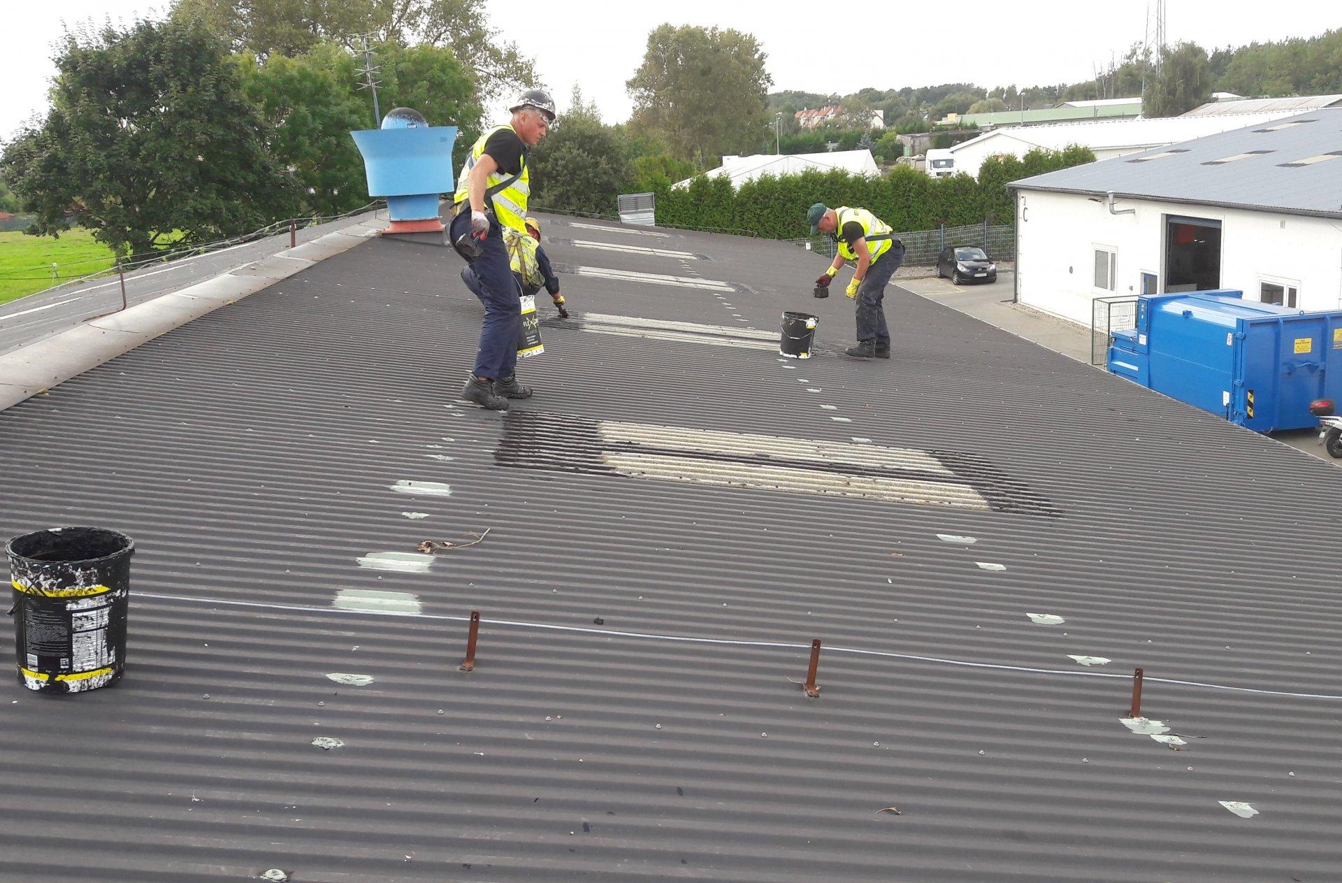 szczecin naprawy dachu