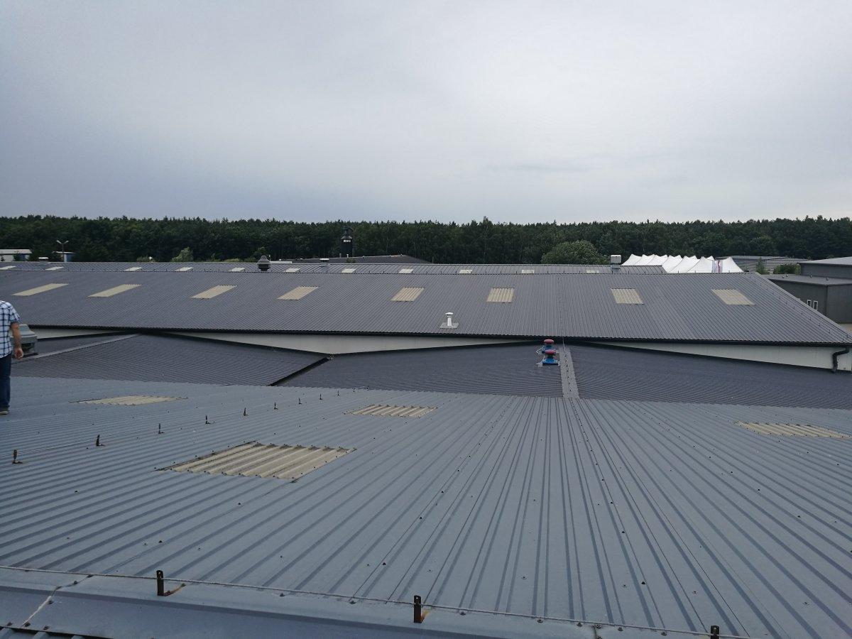 remonty dachów płaskich