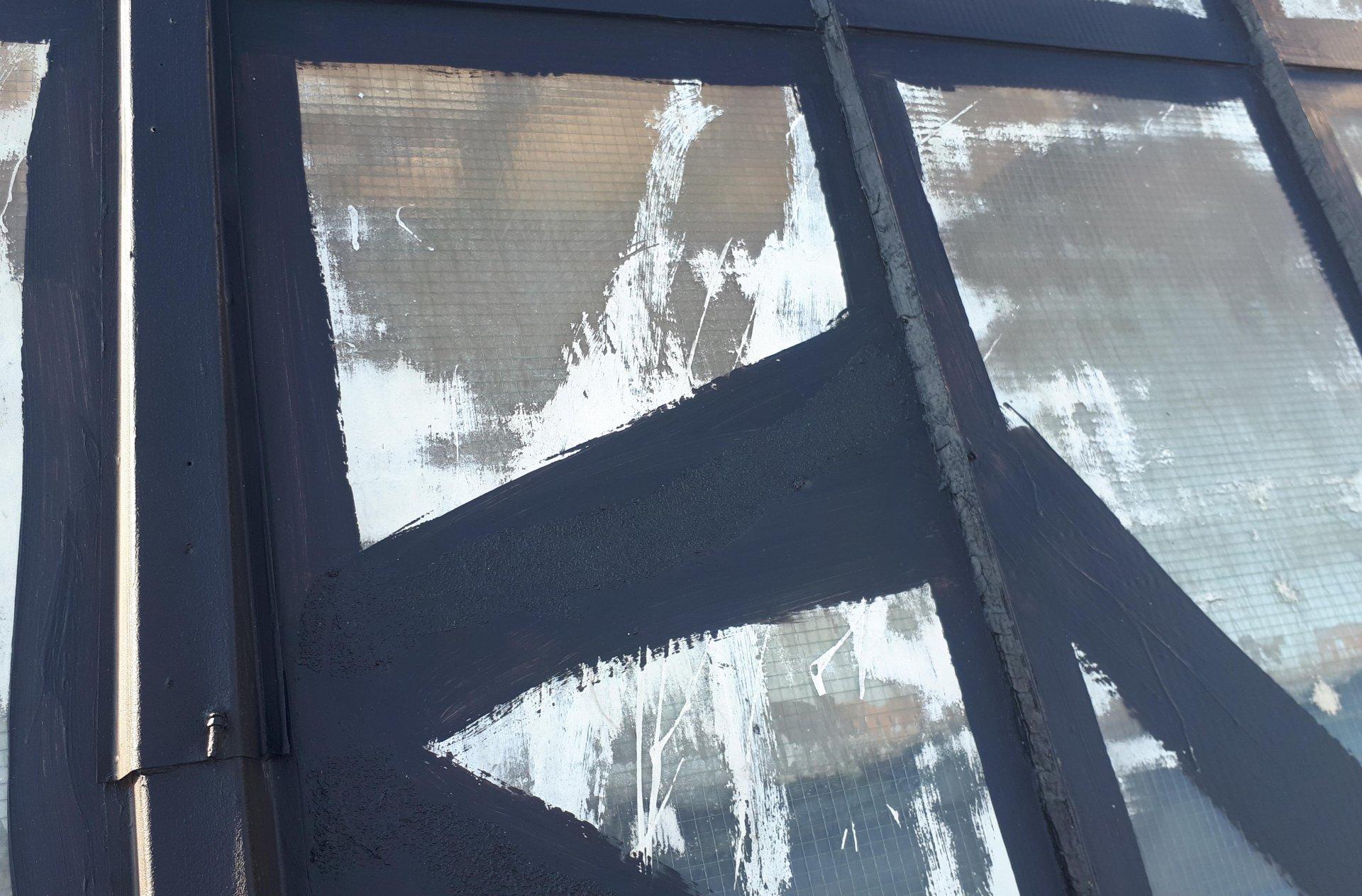 gruntowanie naświetla dachowego