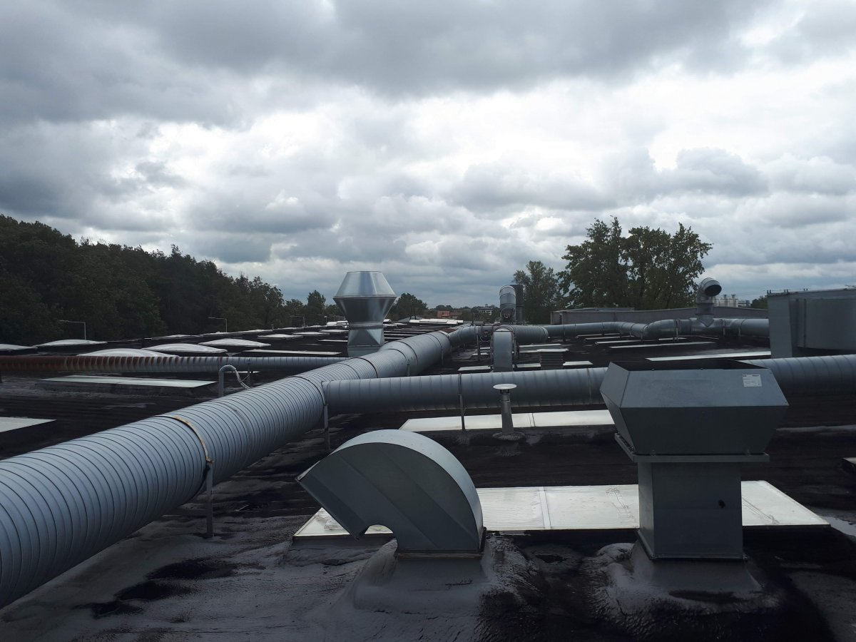 modernizacja dachu z piany pur