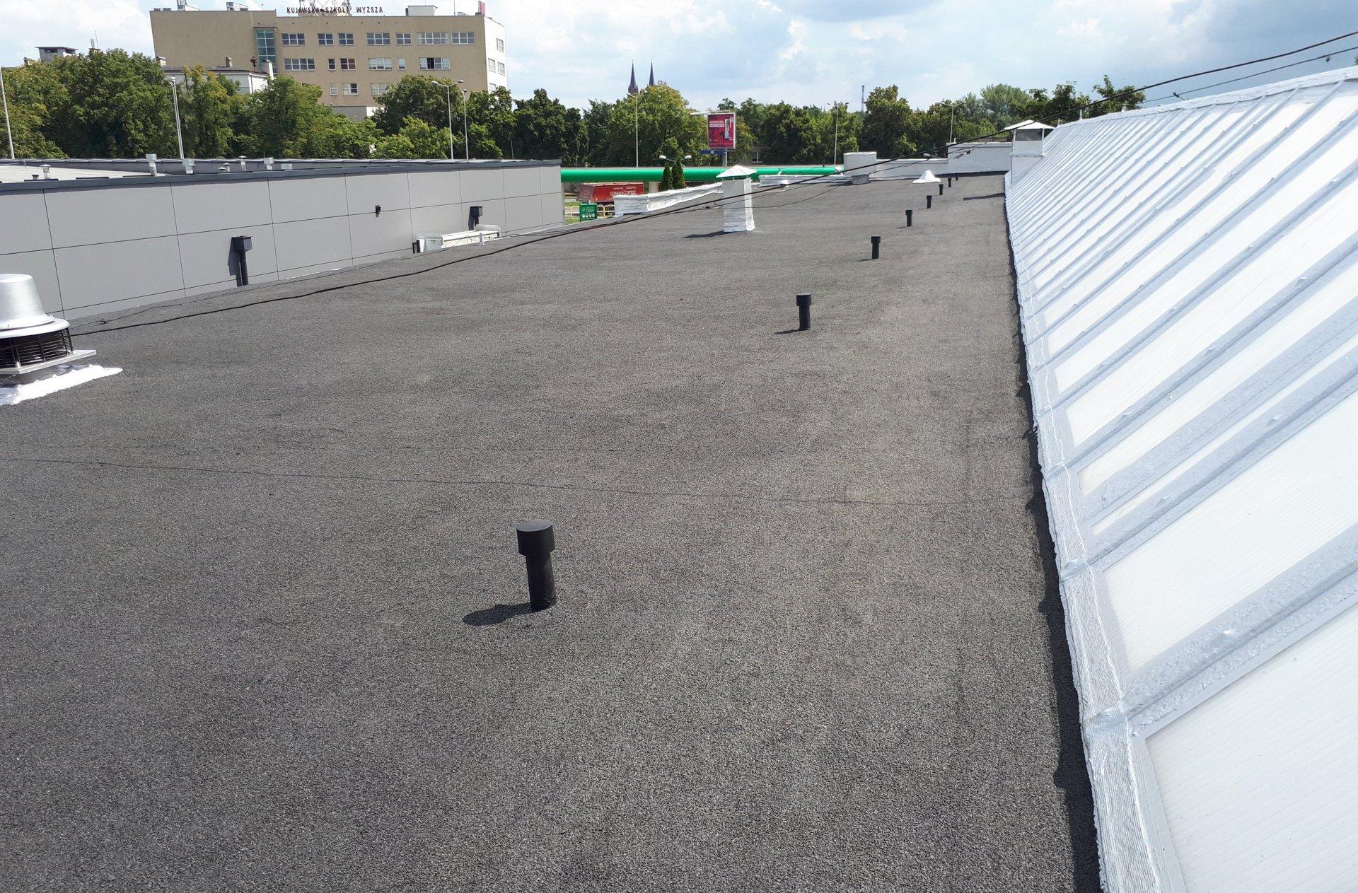 remont dachu papowego