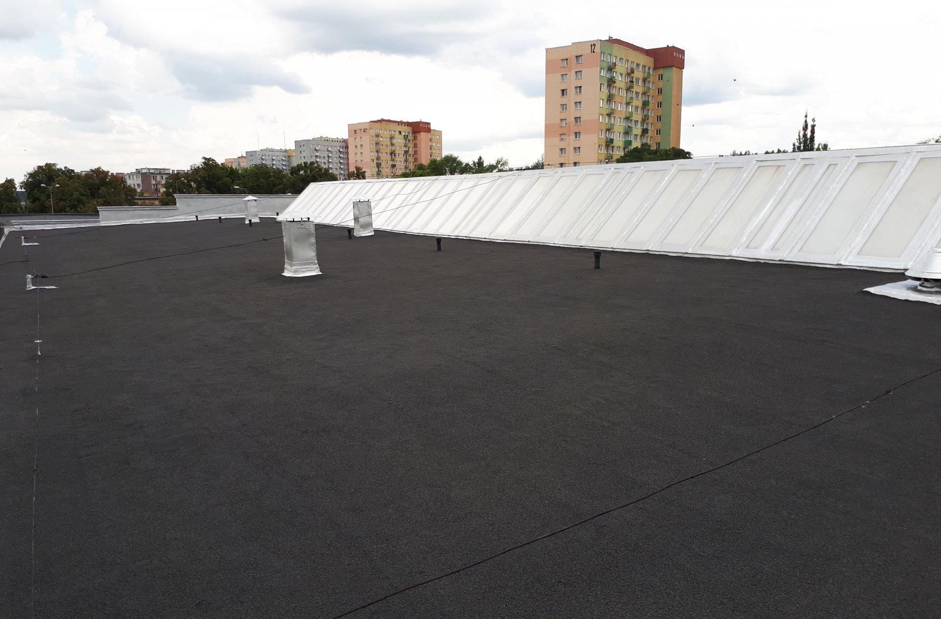 kompleksowa renowacja dachu papowego