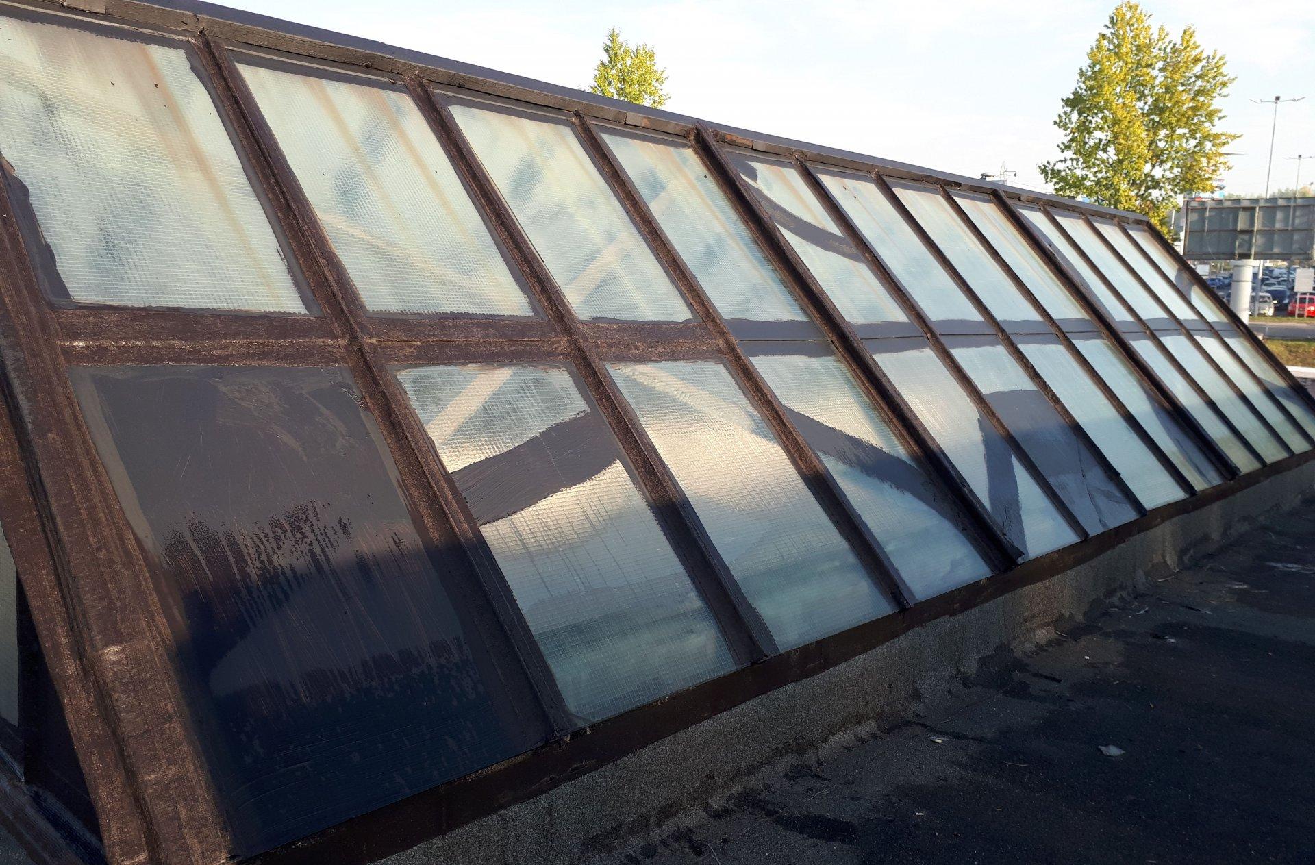 renowacja dachu przemysłowego