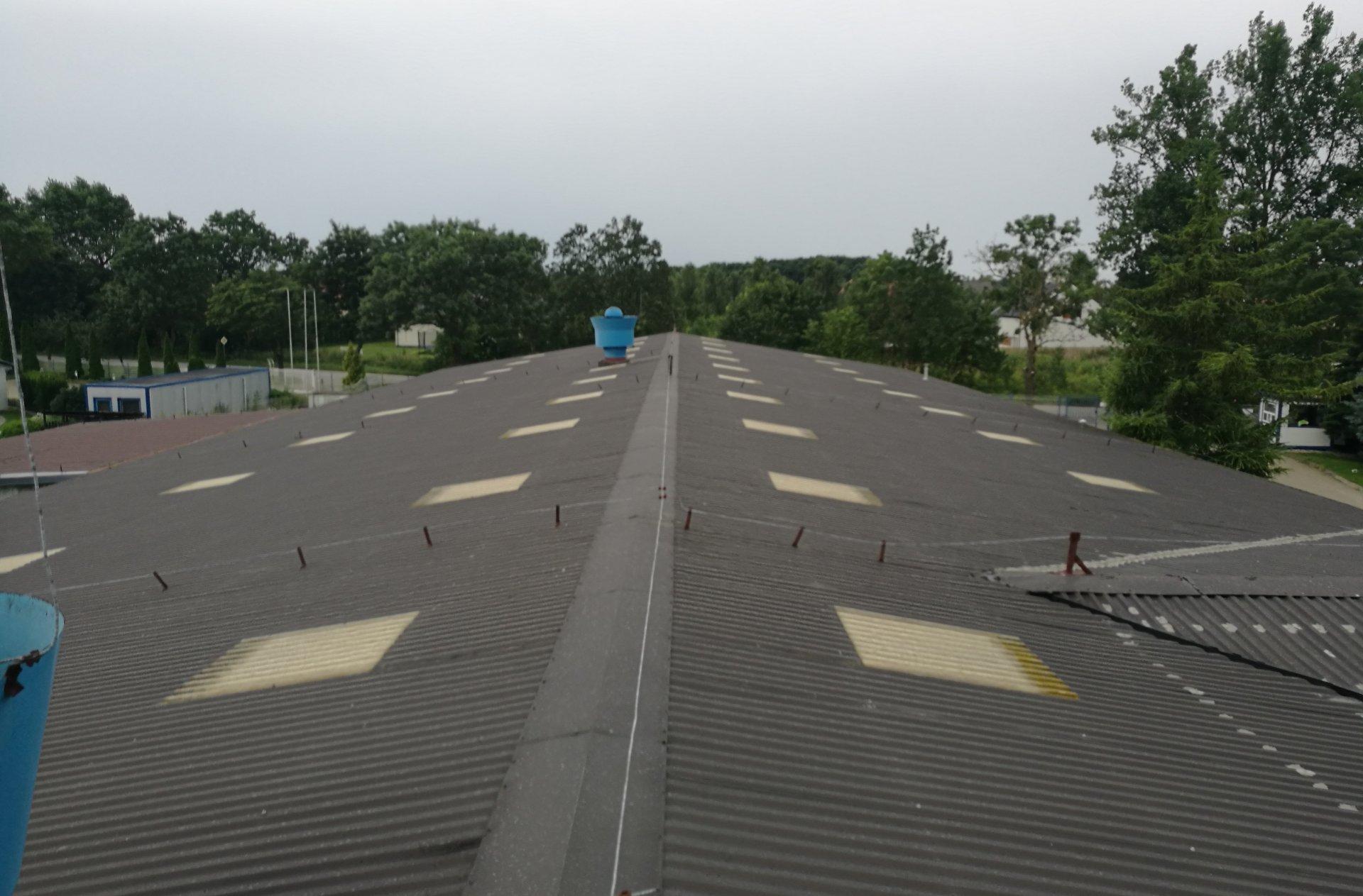 naprawy dachów płaskich