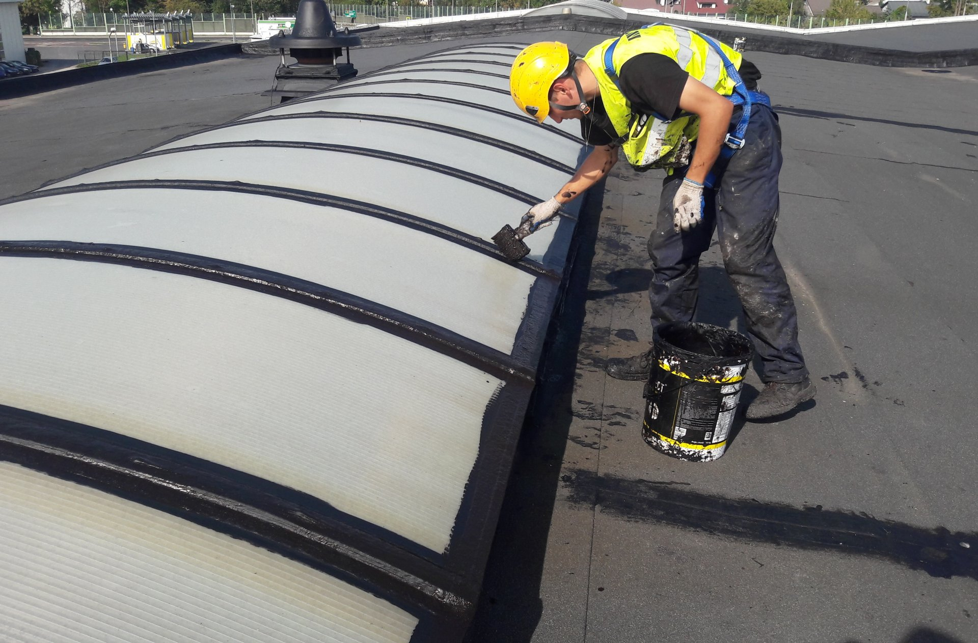 renowacja naświetli dachowych