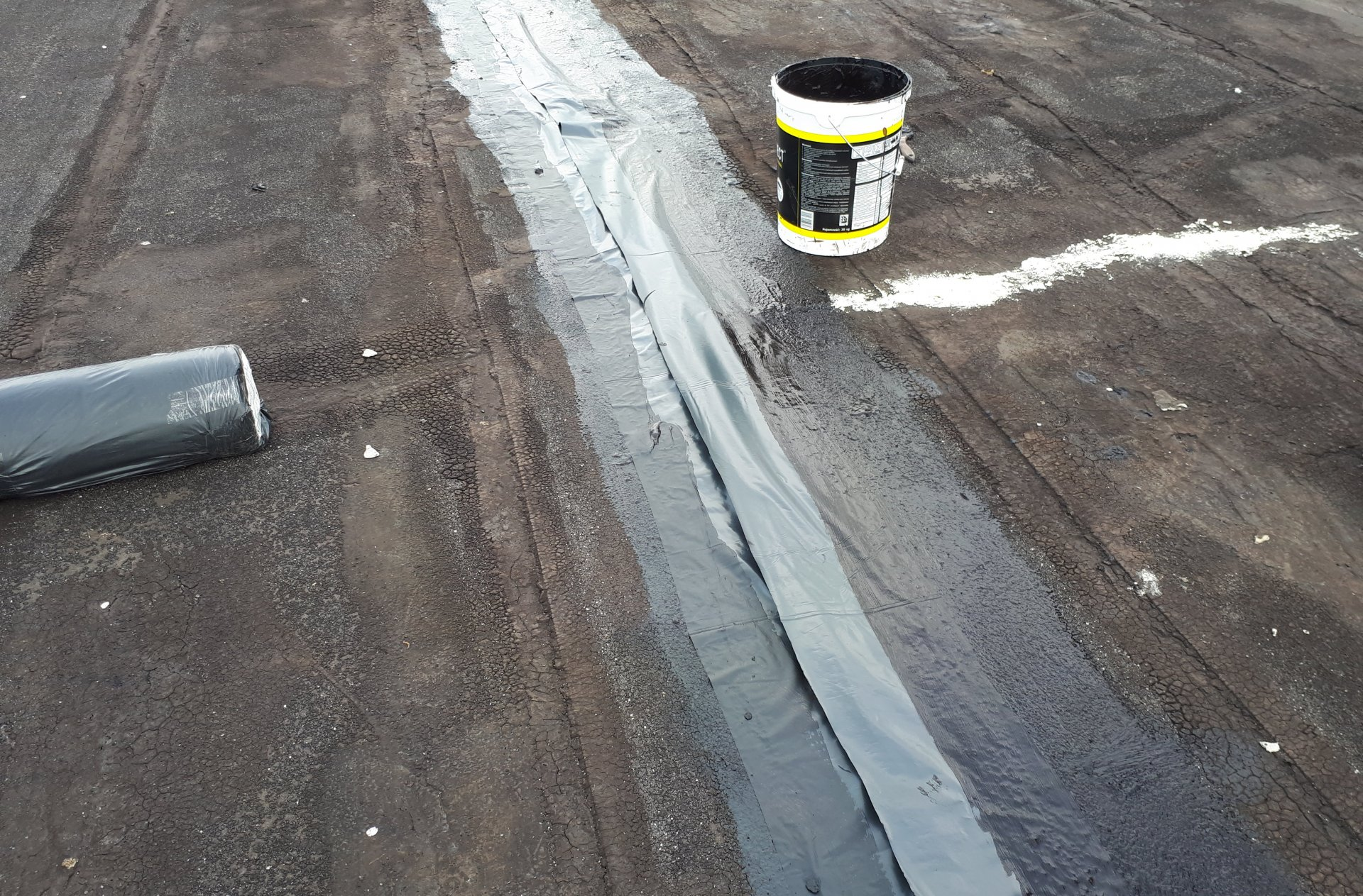 renowacja papy dachowek