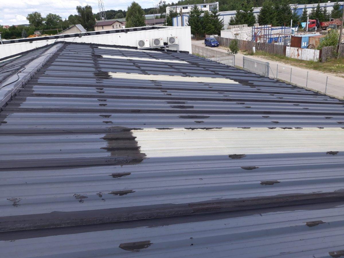 naprawa poktycia dachu