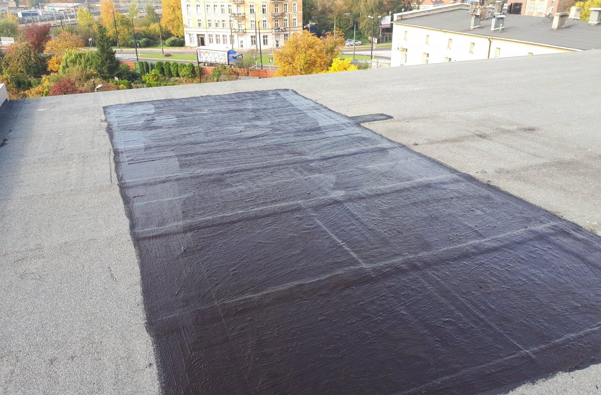 naprawy miejscowe dużych dachów