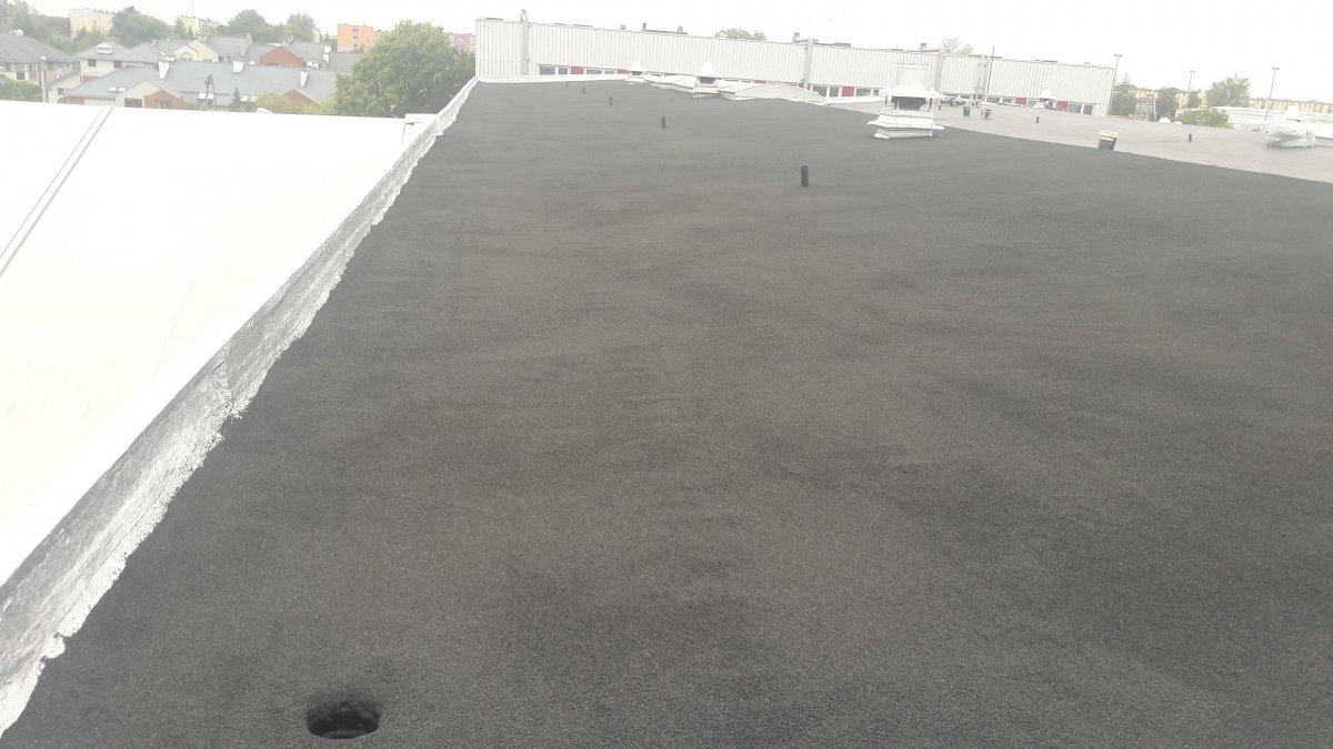 pokrycie dachu płaskiego