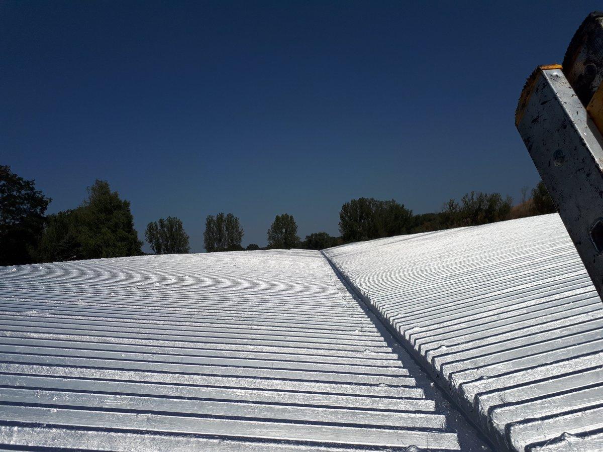 remont dachu z blachy