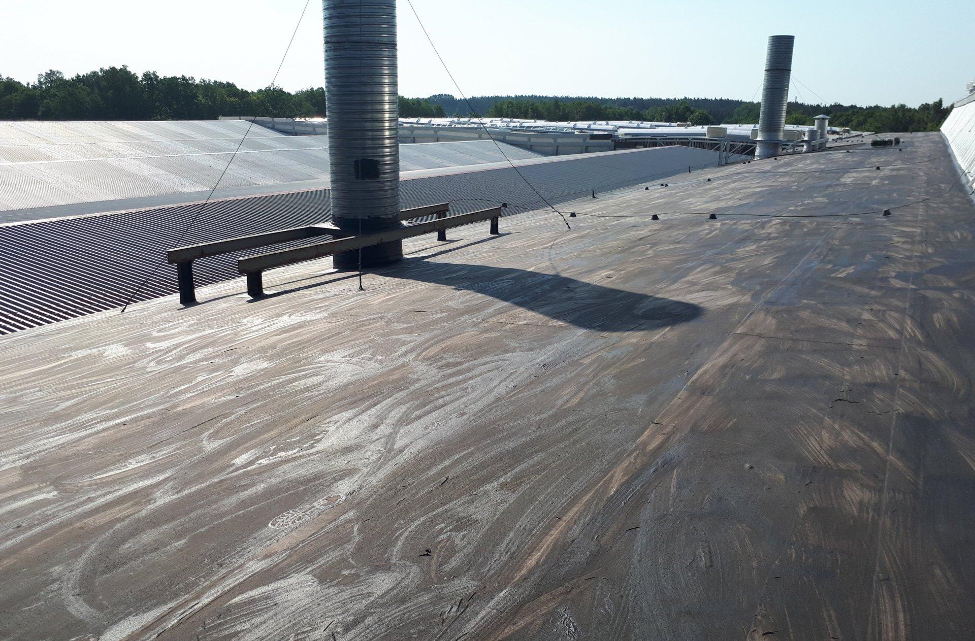 renowacja dachów płaskich