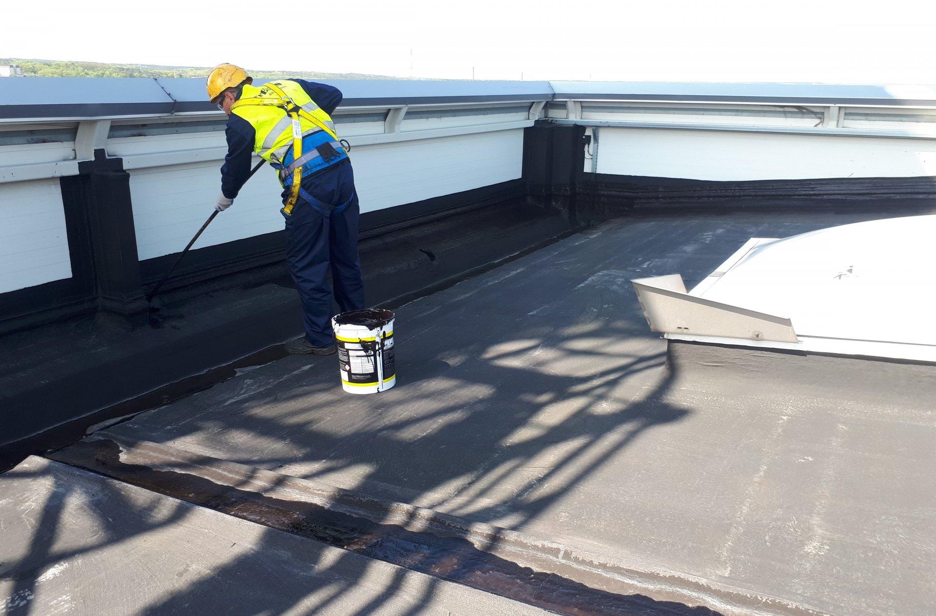 1. Renowacja Dachów papowych